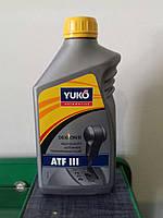 Масло для автоматических трансмиссий YUKO ATF III 1л