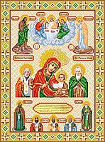 Схема для вышивки Божья матерь Колочская