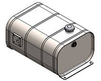 Масляный бак OMFB стальной с откидной крышкой клапана