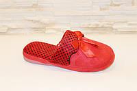 Тапочки комнатные женские красные Тп15 р 36-37,38-39
