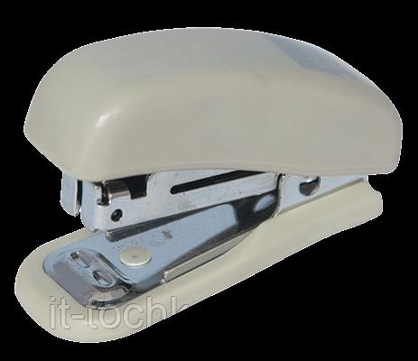 Степлер пластиковый МИНИ, 10л.,(скобы №10), серый bm.4125-09