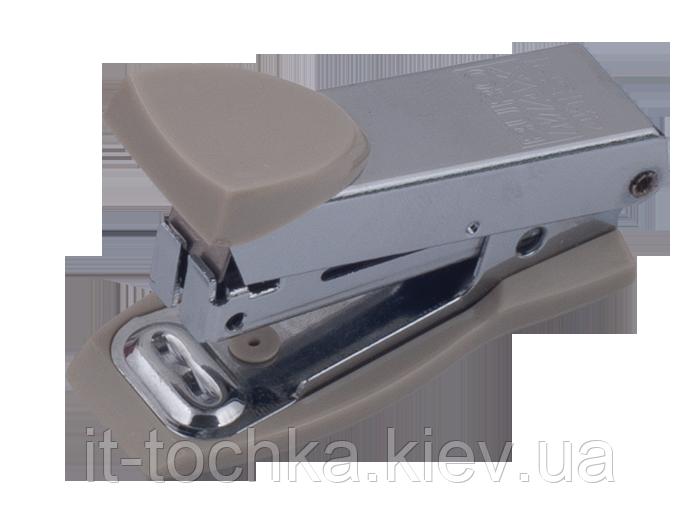 Степлер металлический МИНИ, 12л.,(скобы №10), серый bm.4151-09