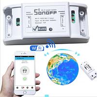 Беспроводной  WiFi  выключатель электрической сети  Smart модуль реле Sonoff 220V 10A/2200W