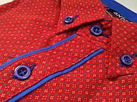 Подростковые рубашки-стильные и модные на осень для мальчиков 10 лет. Производство AND-Турция. (Осень-2017г.)