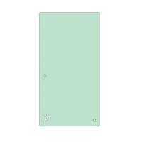 Индекс-разделитель 105х230 мм, 100шт., картон, зеленый 8620100-06pl