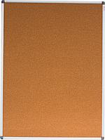 Пробковая доска buromax bm.0018 размер 90х120см алюминиевая рамка