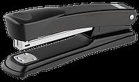 Степлер металлический buromax bm.4257-01 черный на 30 листов (скобы №24; 26)
