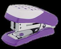 Степлер пластиковый, 20л., ШАХМАТКА (скобы №24; 26), фиолетовый bm.4232-07
