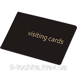 Визитница для 24 визиток, pvc, черная 0304-0001-01