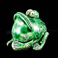 Фигурка керамическая ручной работы Лягушка