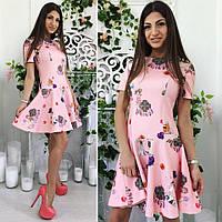 Платье (42,44,46) — неопрен  от компании Discounter.top