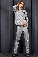"""Трикотажный женский спортивный костюм """"Elsboro"""" с туникой и карманами (2 цвета)"""