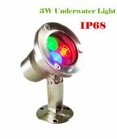 Подводный прожектор LED RGB IP68 3W 220V
