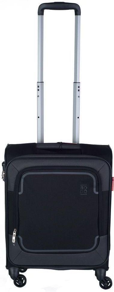 Тканевый 4-х колесный чемодан небольшого размера 39 л. Roncato Stargate 425473 01, черный