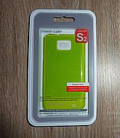 Чехол Samsung i9100 i9105 Galaxy S2 зеленый накладка для телефона