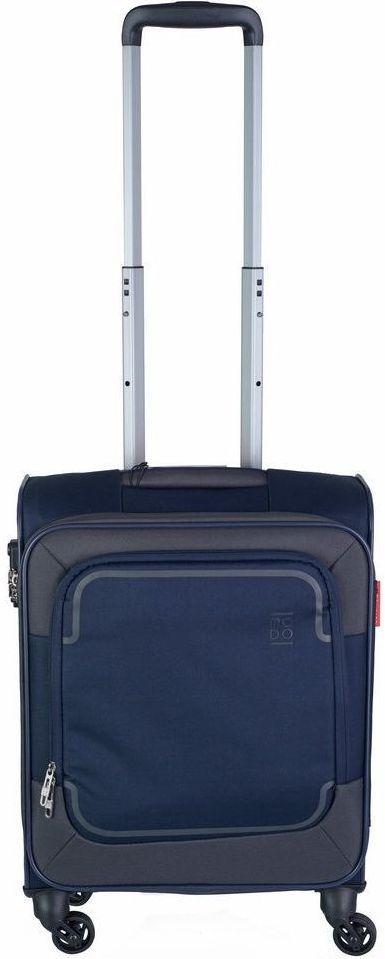 Тканевый 4-х колесный чемодан небольшого размера 39 л. Roncato Stargate 425473 23,темно-синий