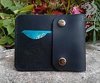 """Чоловічий гаманець мужской кошелек """"Міні2"""", натуральна шкіра, ручна робота"""