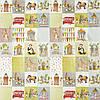 Ткань для штор в детскую Day out My world