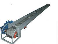 Горизонтальный конвейер типа Волокуша Рольган (с ровной лентой)