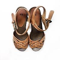 Босоножки H&M на каблуке EUR 39