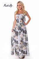 Длинное пляжное платье Suavite 4122-2