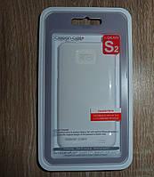 Чехол Samsung i9100 i9105 Galaxy S2 белый накладка для телефона White