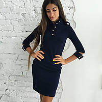 Платье (42, 44, 46) — кукуруза от компании Discounter.top