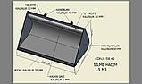 Ковш JCB из износостойкой стали Hardox (Хардокс), фото 8