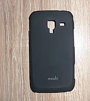Чехол накладка Samsung i8160 Galaxy Ace 2 черный moshi
