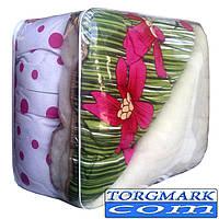 Одеяло Шерстяное открытое Сатин+Мех (150 х 210 см)