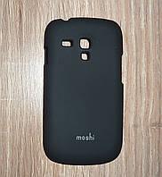 Чехол накладка Samsung i8190 Galaxy S3 mini черный moshi