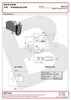 Клапан ограничителя хода Binotto KVLV-FC-G18-PNM