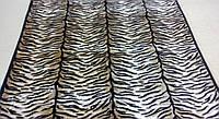 Плед акриловый двуспальный TRUE LOVE шкура тигровая