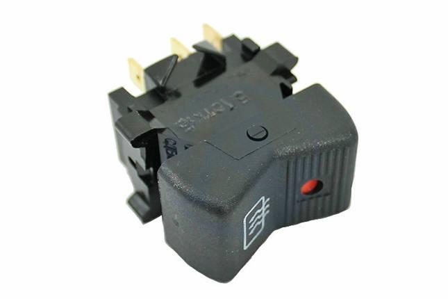Выключатель клавиша ВАЗ-2107 обогрева заднего стекла С-Пб, фото 2
