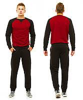Мужской спортивный костюм (46, 48, 50, 52, 54) — двунитка  от компании Discounter.top