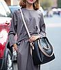 Женская сумка классическая в наборе сумка через плечо Tiffany Черный, фото 3