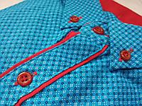 Рубашки осенние для подростков стильные и модные 10 лет. Производство Турция. (Осень-2017г.)