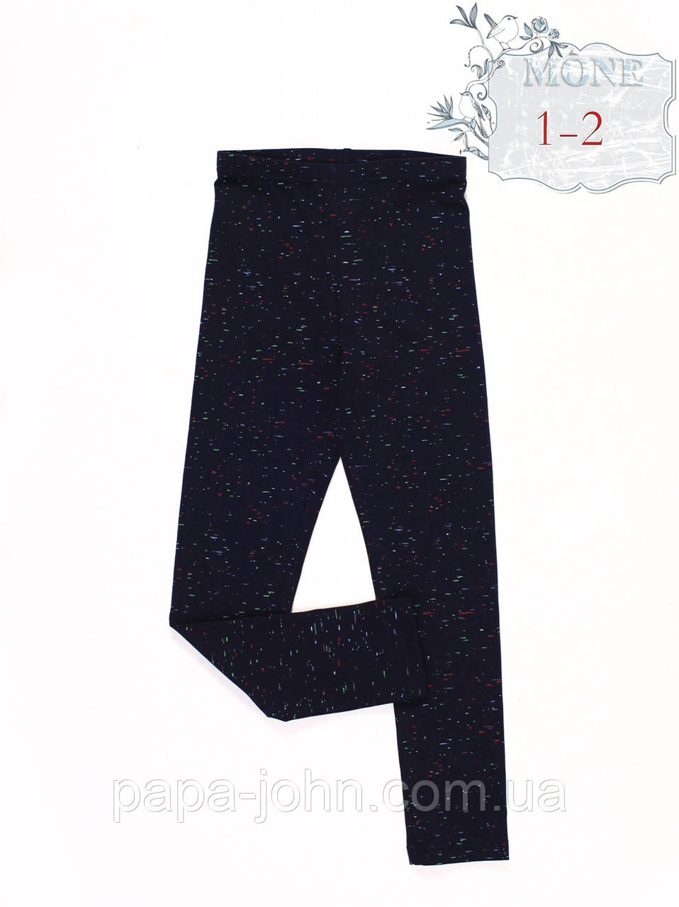 Лосины трикотаж  принт черта  ТМ Моне  р. 134 152