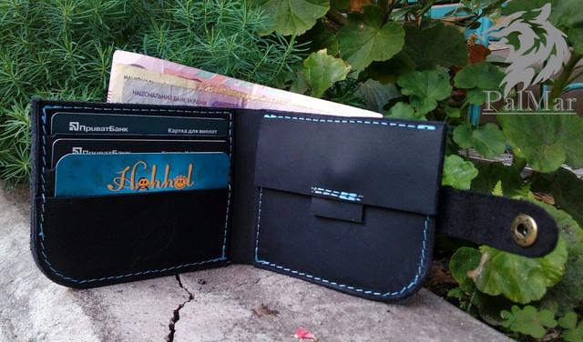 """Чоловічий гаманець """"Wallet3"""" ручної роботи"""