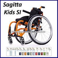 Легкая Активная Инвалидная Коляска Sagitta Kids SI Active Wheelchair, фото 1