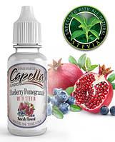 Capella Blueberry Pomegranate with Stevia Flavor (Черника и гранат) 5 мл