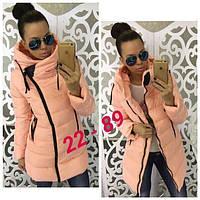 Женская куртка (42, 44, 46) — синтепон 200 от компании Discounter.top 44
