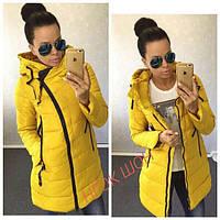 Женская куртка (42, 44, 46) — синтепон 200 от компании Discounter.top