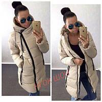 Женская куртка (42, 44, 46) — синтепон 200 от компании Discounter.top 46