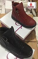 Детские демисезонные ботинки для девочек Размеры32-36