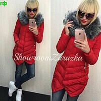 Женская куртка (S-M, M-L) — Синтепон 200 от компании Discounter.top M-L