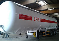 Автоцистерна ALTINORDU 45м3 для жидкого нефтянного газа