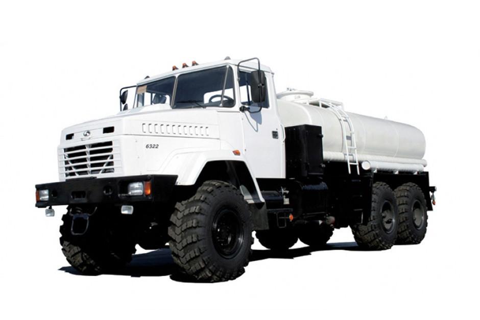 Автоцистерна КрАЗ 65053\6322 для перевезення рідких харчових продуктів