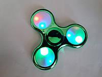 Спиннер светящиеся хром Led Fidget spinner цвета есть разные купить в Украине оптом Одесса 7 км, фото 1