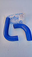 Патрубки радиатора ГАЗ  3309,3308 (2шт) силикон (синие)армированные